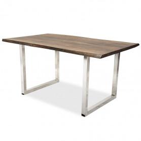 Рабочий стол в стиле лофт ДЖИВАН sigar silver