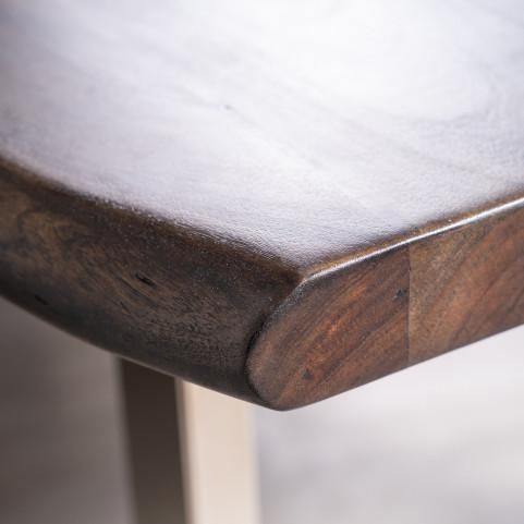 Стол из массива большой, ДЖИВАН sigar silver